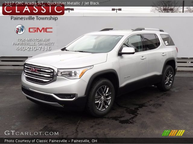 2017 GMC Acadia SLT in Quicksilver Metallic