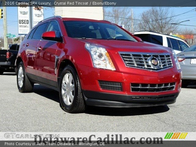 2016 Cadillac SRX Luxury in Crystal Red Tincoat