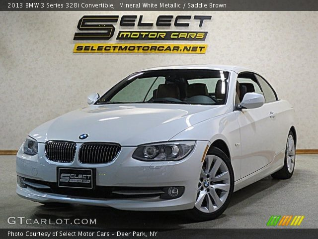 2013 BMW 3 Series 328i Convertible in Mineral White Metallic