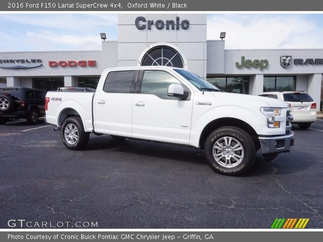 2016 Ford F150 Lariat SuperCrew 4x4 in Oxford White