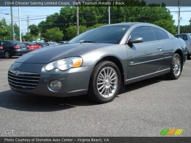 dark titanium metallic 2004 chrysler sebring limited. Black Bedroom Furniture Sets. Home Design Ideas