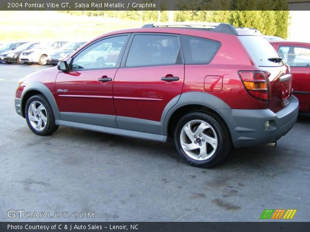 2004 Pontiac Vibe GT in Salsa Red Metallic