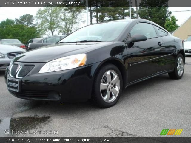 black 2006 pontiac g6 gt coupe ebony interior. Black Bedroom Furniture Sets. Home Design Ideas