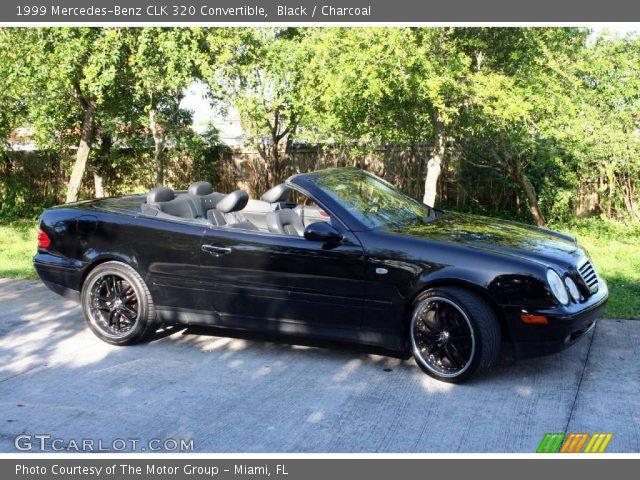 Black 1999 Mercedes Benz Clk 320 Convertible Charcoal