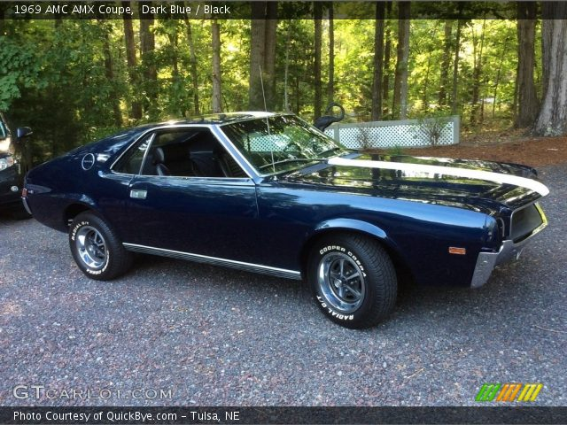 1969 AMC AMX Coupe in Dark Blue