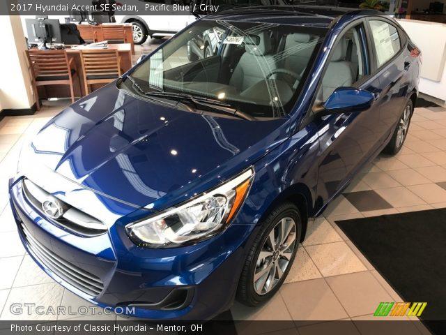 2017 Hyundai Accent SE Sedan in Pacific Blue