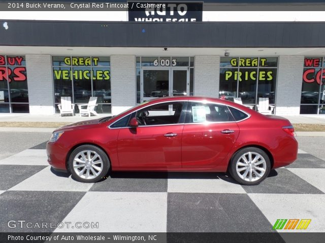 2014 Buick Verano  in Crystal Red Tintcoat