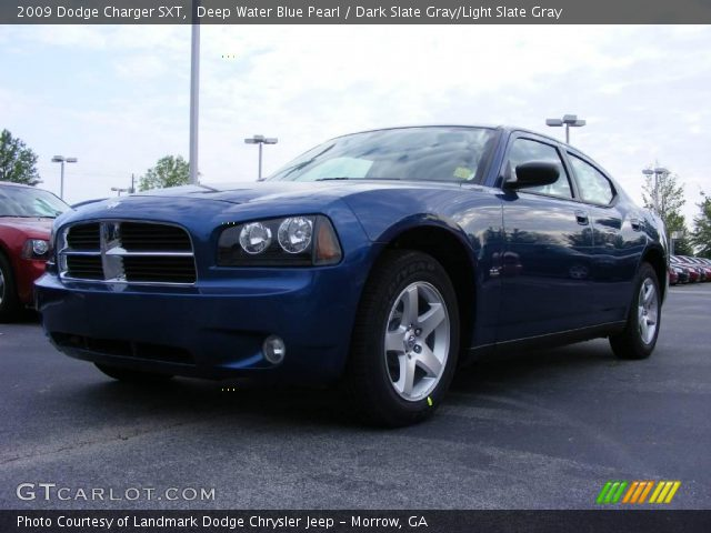deep water blue pearl 2009 dodge charger sxt dark. Black Bedroom Furniture Sets. Home Design Ideas