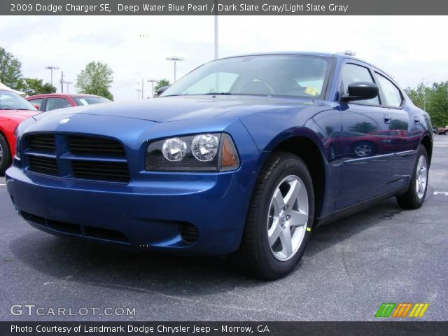 deep water blue pearl 2009 dodge charger se dark slate. Black Bedroom Furniture Sets. Home Design Ideas