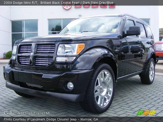 brilliant black crystal pearl 2009 dodge nitro r t dark slate gray blue interior gtcarlot. Black Bedroom Furniture Sets. Home Design Ideas