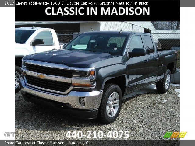 2017 Chevrolet Silverado 1500 LT Double Cab 4x4 in Graphite Metallic
