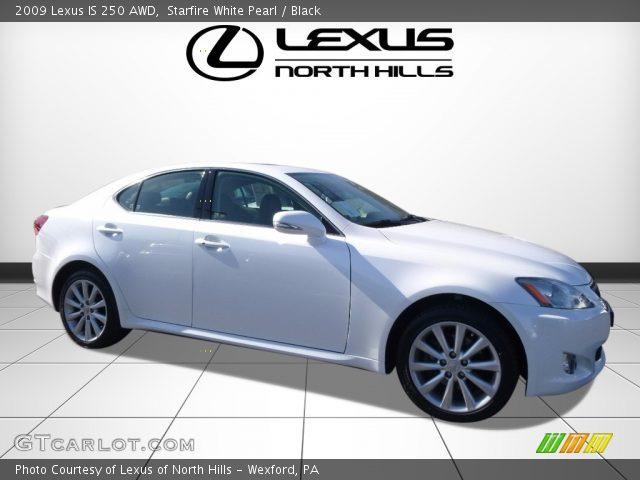 2009 Lexus IS 250 AWD in Starfire White Pearl
