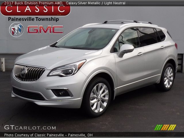 2017 Buick Envision Premium AWD in Galaxy Silver Metallic