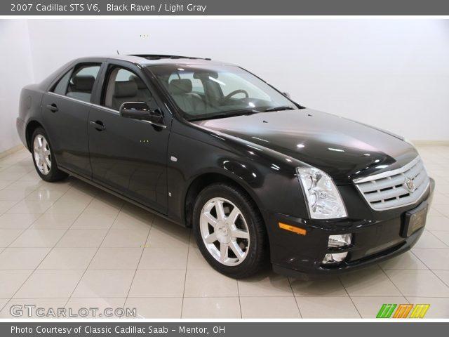 2007 Cadillac STS V6 in Black Raven