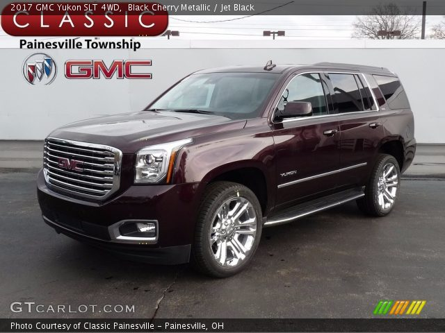 2017 GMC Yukon SLT 4WD in Black Cherry Metallic