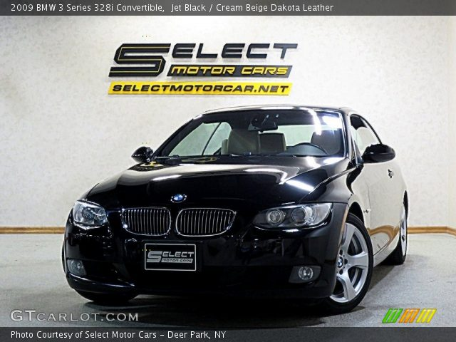 2009 BMW 3 Series 328i Convertible in Jet Black