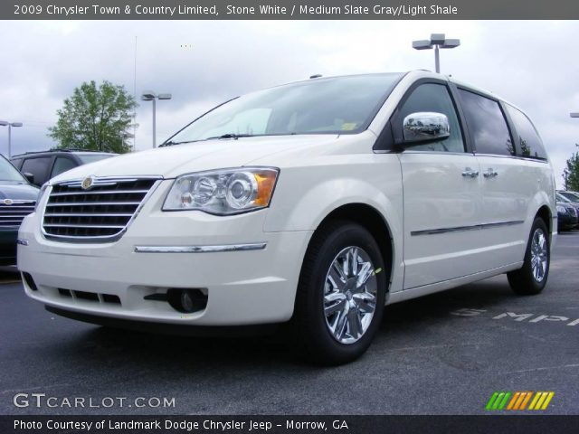 Stone white 2009 chrysler town country limited for Stone s town country motors