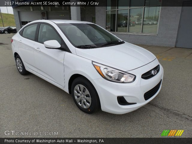 2017 Hyundai Accent SE Sedan in Century White