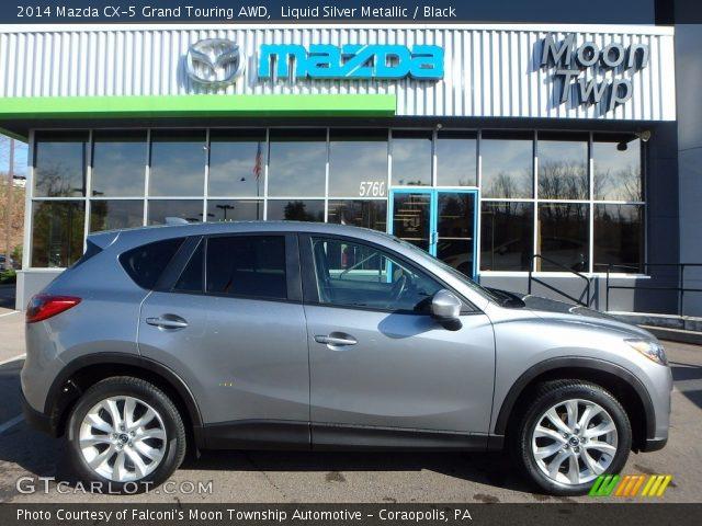 2014 Mazda CX-5 Grand Touring AWD in Liquid Silver Metallic