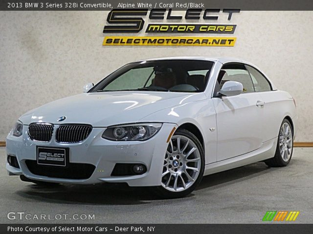 2013 BMW 3 Series 328i Convertible in Alpine White