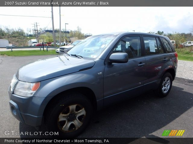 2007 Suzuki Grand Vitara 4x4 in Azure Grey Metallic