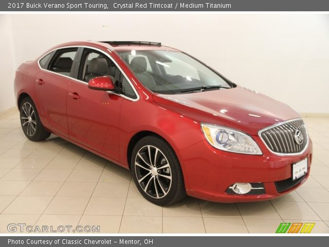 2017 Buick Verano Sport Touring in Crystal Red Tintcoat