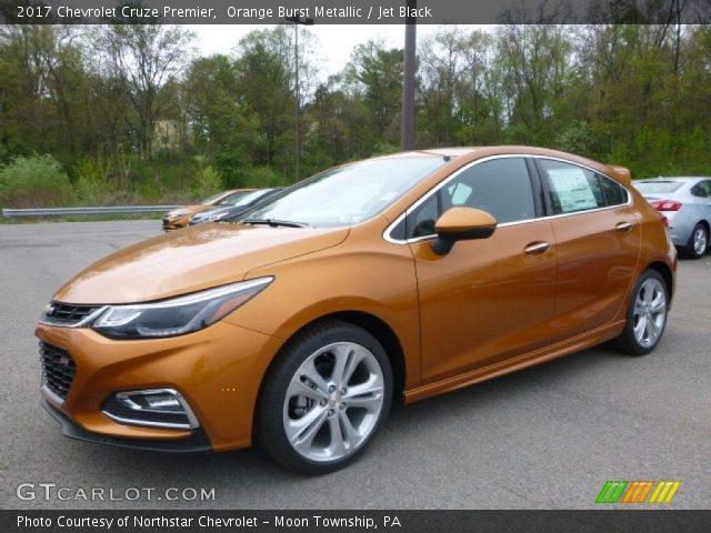 2017 Chevrolet Cruze Premier in Orange Burst Metallic