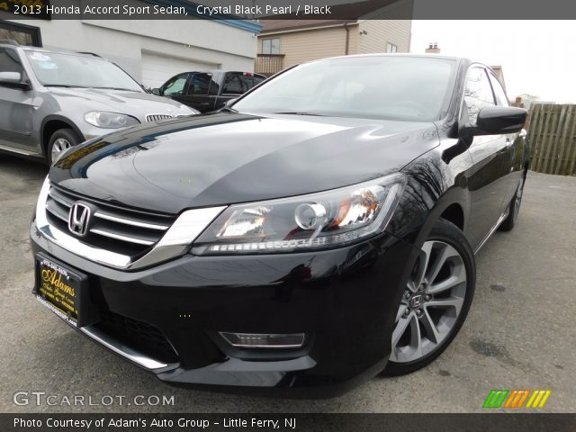2013 Honda Accord Sport Sedan in Crystal Black Pearl