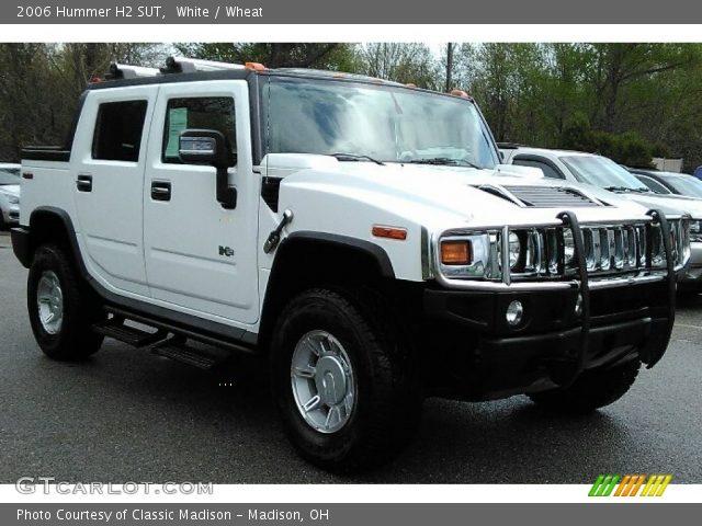 2006 Hummer H2 SUT in White