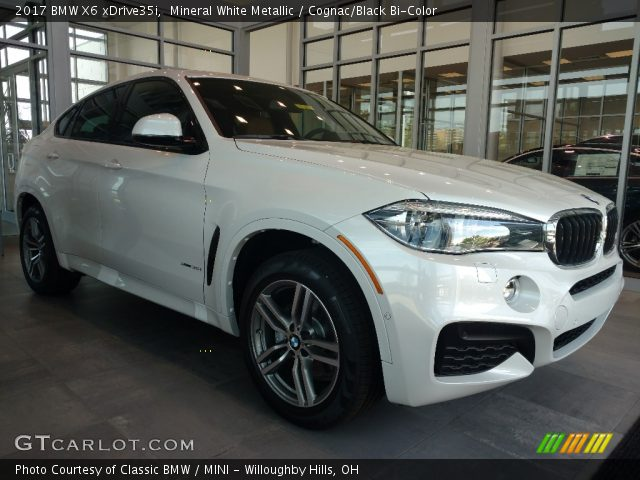 2017 BMW X6 XDrive35i In Mineral White Metallic