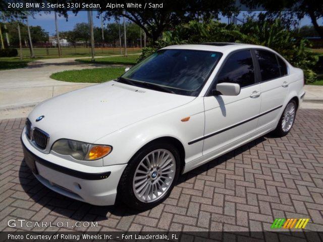 2003 BMW 3 Series 330i Sedan In Alpine White