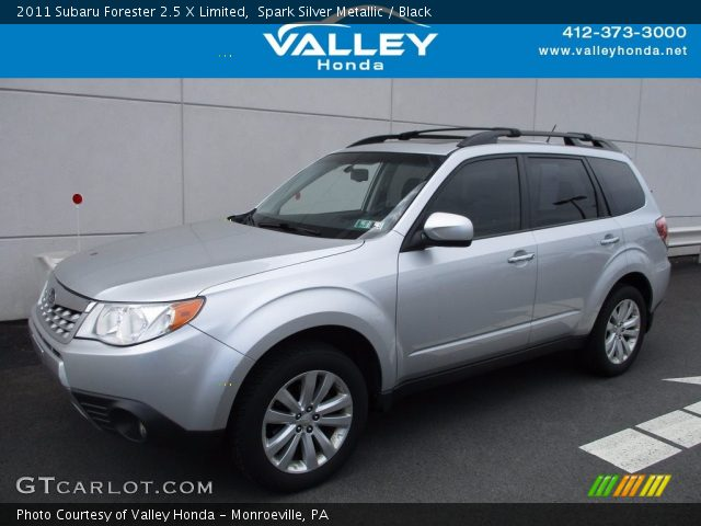 2011 Subaru Forester 2.5 X Limited in Spark Silver Metallic