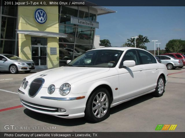 white onyx 2001 jaguar s type 4 0 almond interior vehicle archive 11985505. Black Bedroom Furniture Sets. Home Design Ideas