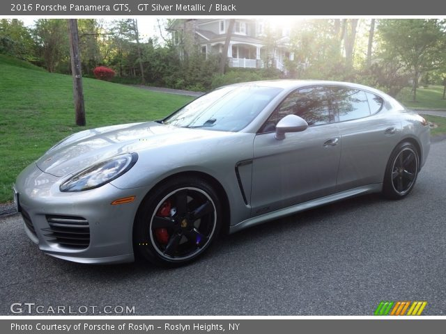 2016 Porsche Panamera GTS in GT Silver Metallic