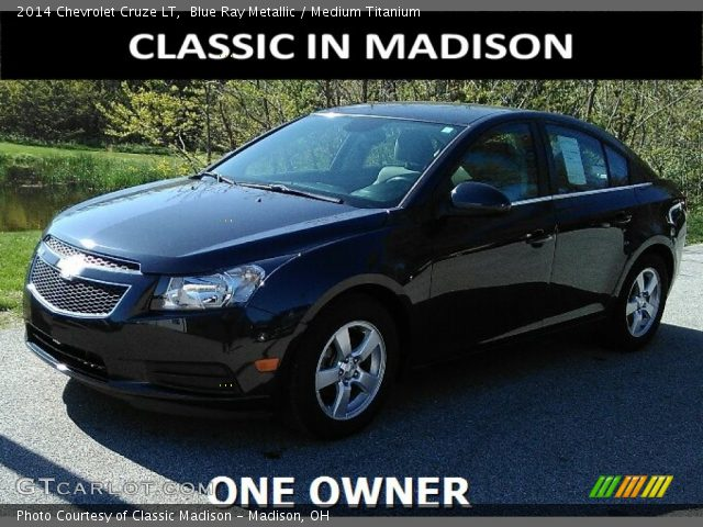 2014 Chevrolet Cruze LT in Blue Ray Metallic