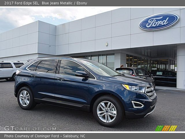 2017 Ford Edge SEL in Blue Jeans Metallic
