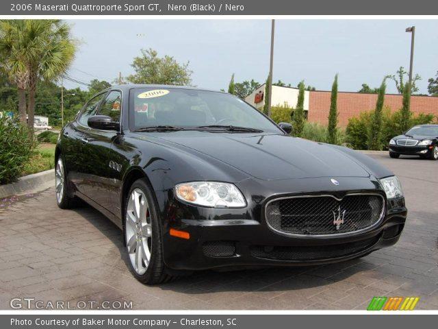 nero black 2006 maserati quattroporte sport gt nero interior vehicle. Black Bedroom Furniture Sets. Home Design Ideas