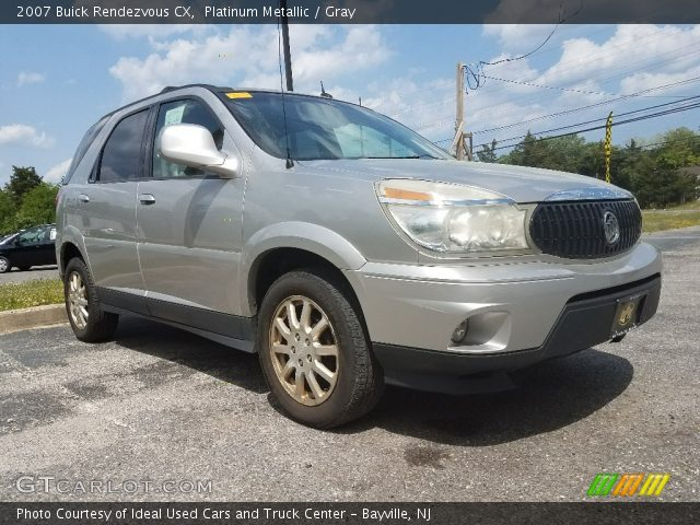 2007 Buick Rendezvous CX in Platinum Metallic
