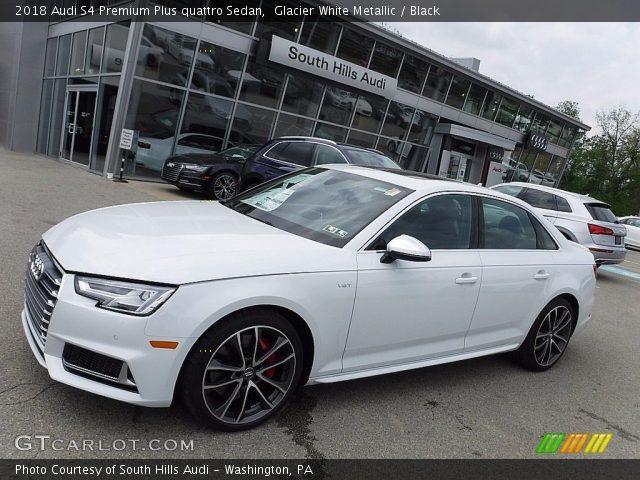 2018 Audi S4 Premium Plus quattro Sedan in Glacier White Metallic