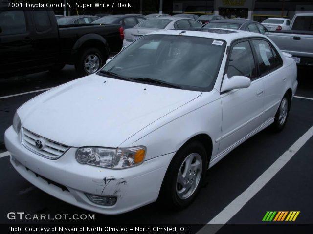 2001 Toyota Corolla le Black 2001 Toyota Corolla s in Super