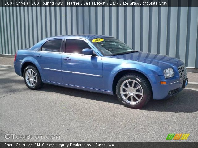 Marine blue pearlcoat 2007 chrysler 300 touring awd - 2007 chrysler 300 custom interior ...