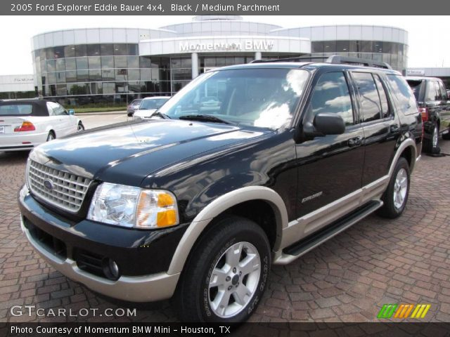 black 2005 ford explorer eddie bauer 4x4 medium parchment interior vehicle. Black Bedroom Furniture Sets. Home Design Ideas