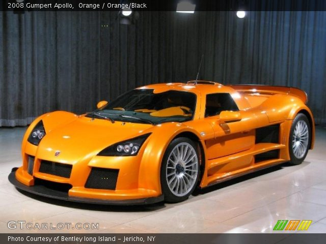 2008 Gumpert Apollo  in Orange