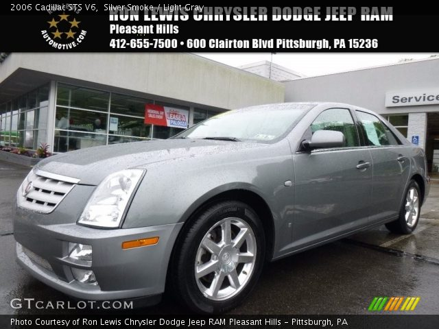 2006 Cadillac STS V6 in Silver Smoke