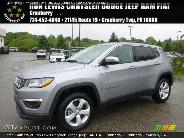 2017 Jeep Compass Latitude 4x4 in Billet Silver Metallic