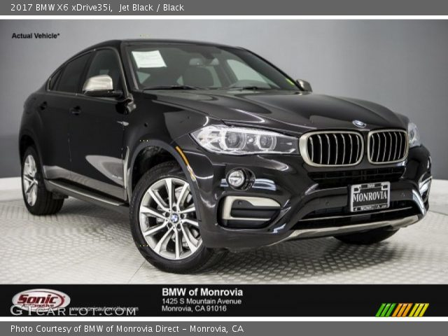 2017 BMW X6 xDrive35i in Jet Black