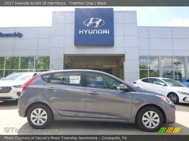 2017 Hyundai Accent SE Hatchback in Triathlon Gray