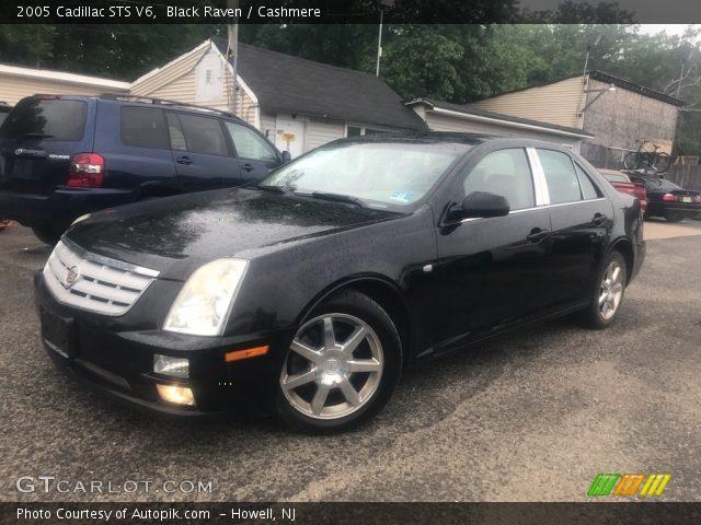 2005 Cadillac STS V6 in Black Raven