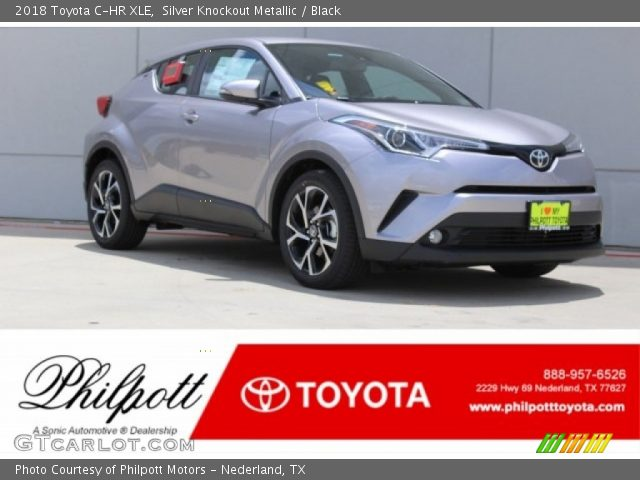 2018 Toyota C-HR XLE in Silver Knockout Metallic