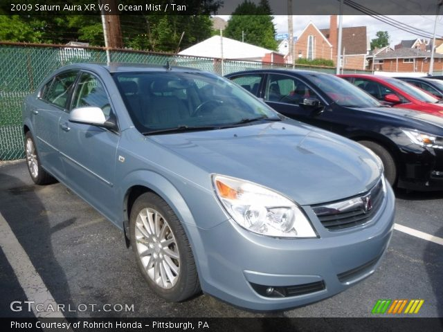 2009 Saturn Aura XR V6 in Ocean Mist
